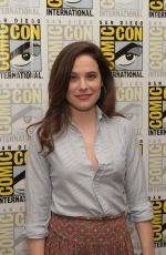 CAROLINE DHAVERNAS at Hannibal Presentation at Comic-con 2014 in San Diego