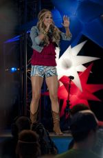 CARRIE UNDERWOOD Performs ar Lavell Edwards Stadium