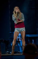 CARRIE UNDERWOOD Performs at Lavell Edwards Stadium in Utah
