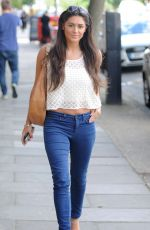 CASEY BATCHELOR Arrives at Fubar Radio in London