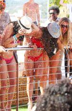 CASEY BATCHELOR in Bikini at a Pool in Ibiza