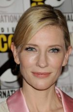 CATE BLANCHETT at Legendary Pictures Panel at Comic-con in San Diego