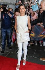 CHERYL COLE at X Factor Auditions in Edinburgh
