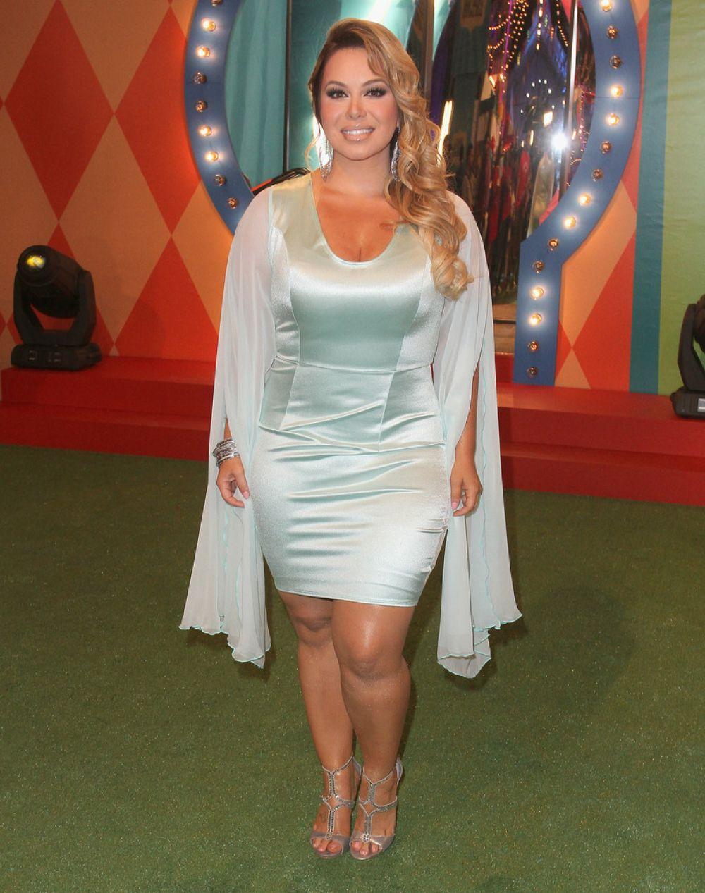 CHIQUIS RIVERA at Premios Juventud 2014 in Coral Gables