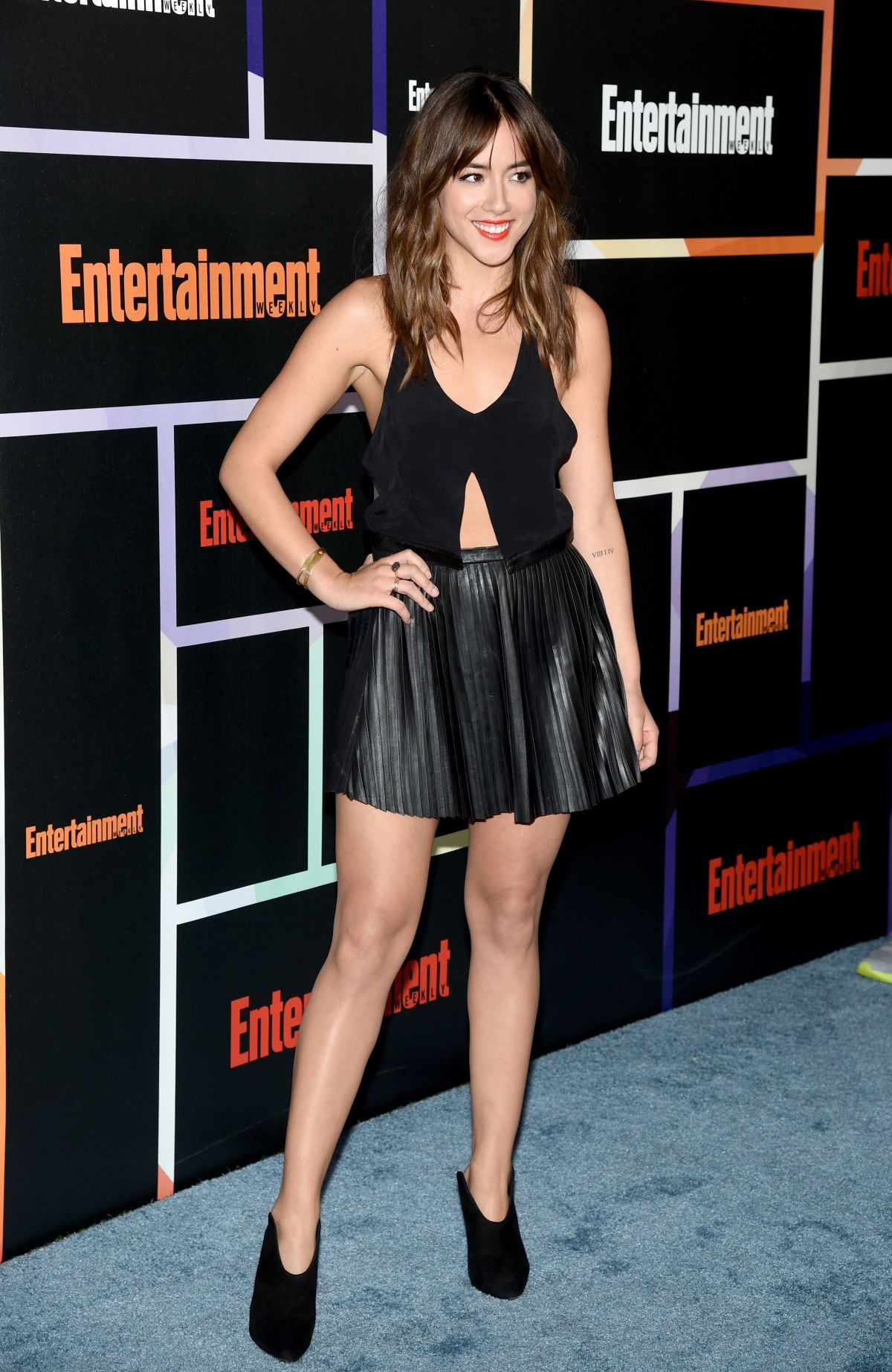 CHLOE BENNET at Entertainment Weekly's Comic-con Celebration