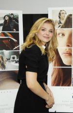 CHLOE MORETZ at If I Stay Fan Meet and Greet in McLean