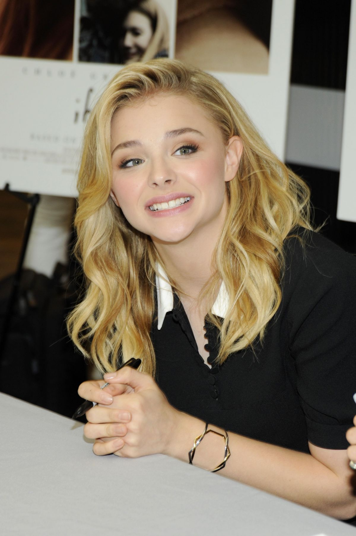 CHLOE MORETZ at If I Stay Fan Meet and Greet in McLean ...