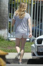 CHLOE MORETZ in Shorts