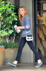CHLOE MORETZ Out and About in Beverly Hills 1407