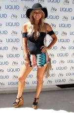 CHRISSY BLAIR at UFC Pool Party in Las Vegas