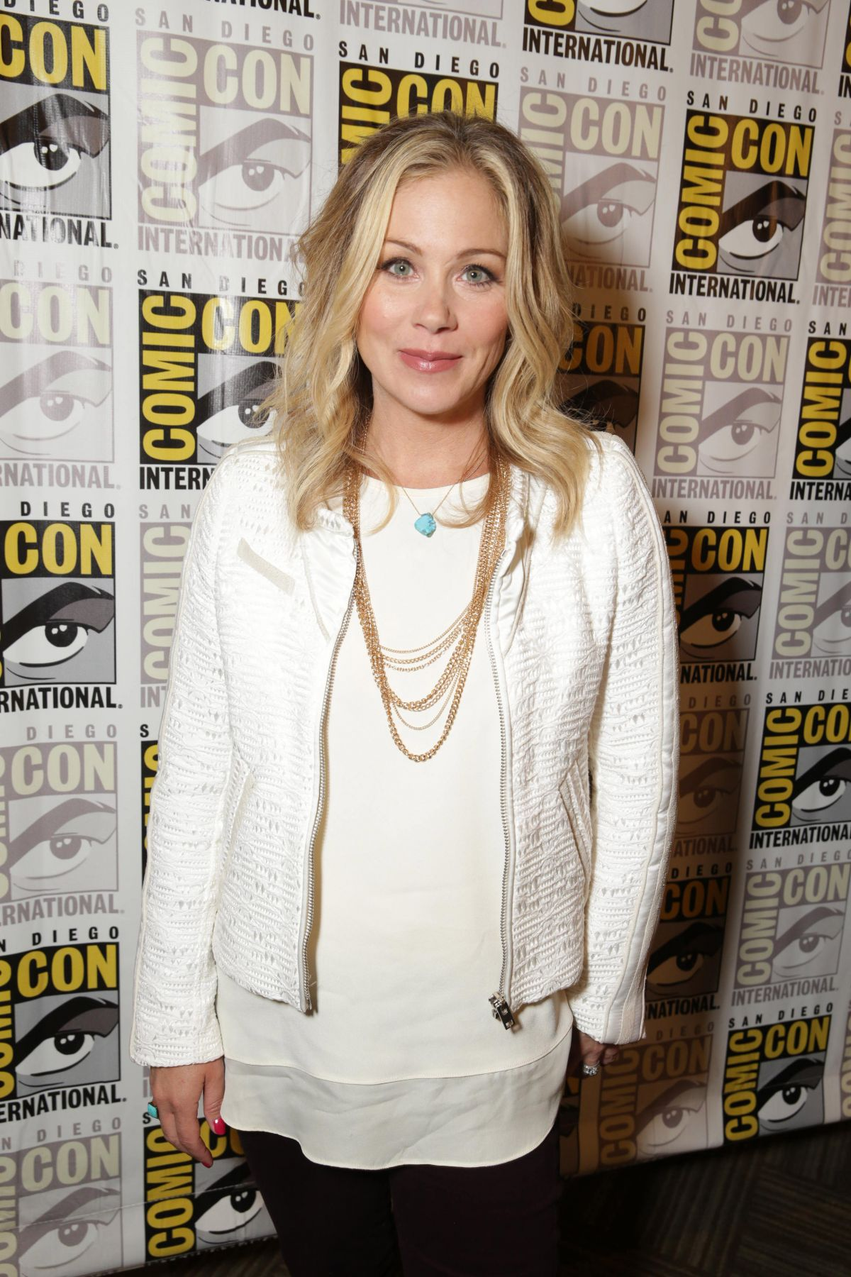 CHRISTINA APPLEGATE at Book of Life Panel at Comic-con in San Diego