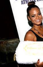 CHRISTINA MILIAN at GBK Luxury Sports Lounge in Hollywood