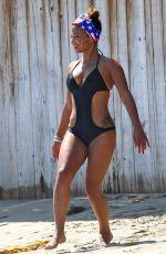 CHRISTINA MILIAN in Swimsuit at Paris Hilton