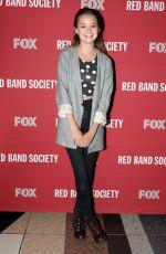 CIARA BRAVO at Red Band Society Screening in Atlanta