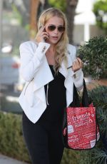 CLAIRE HOLT Out and About in Los Angeles 2107