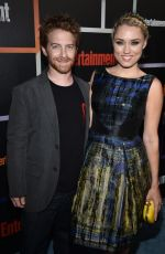 CLARE GRANT at Entertainment Weekly's Comic-con Celebration