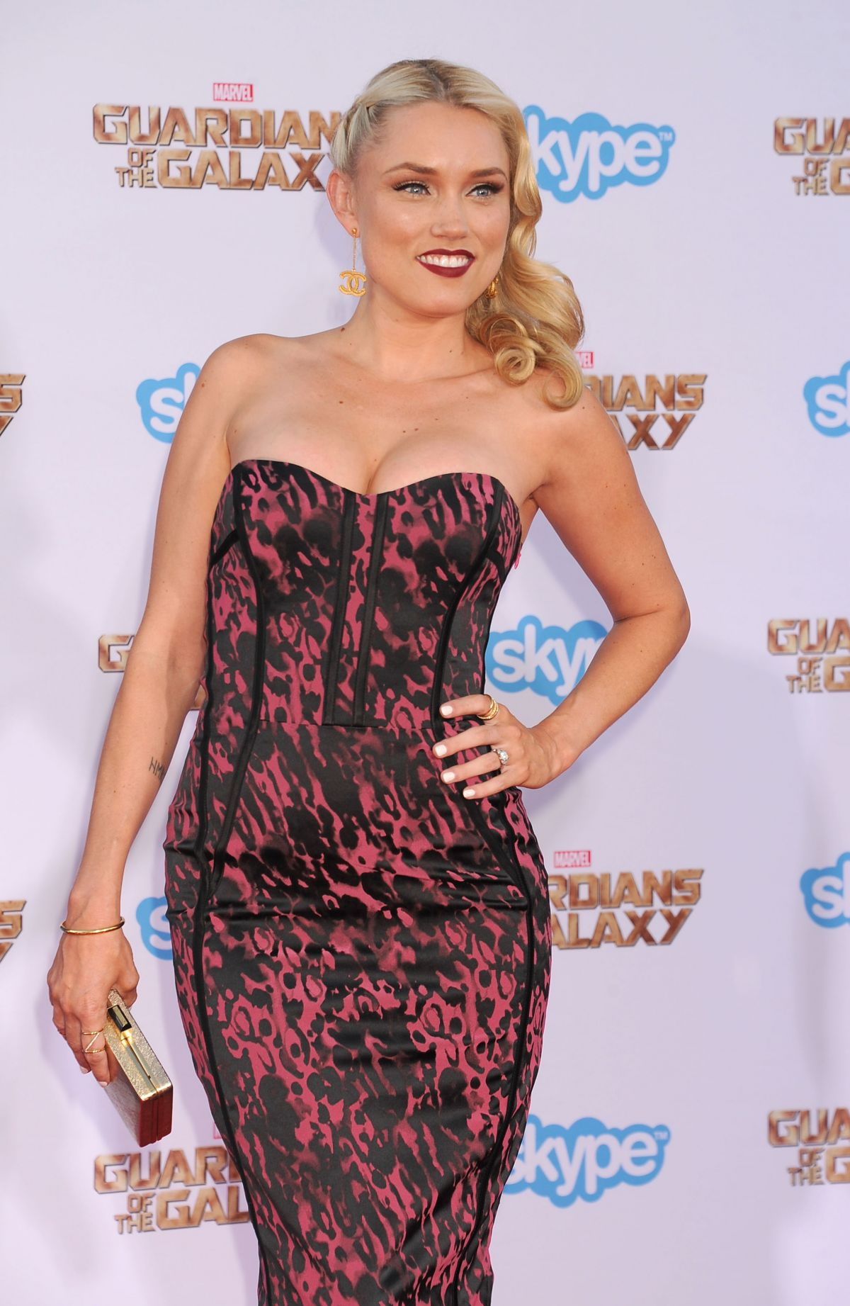 CLARE GRANT at Guardians of the Galaxy Premiere in Hollywood 1