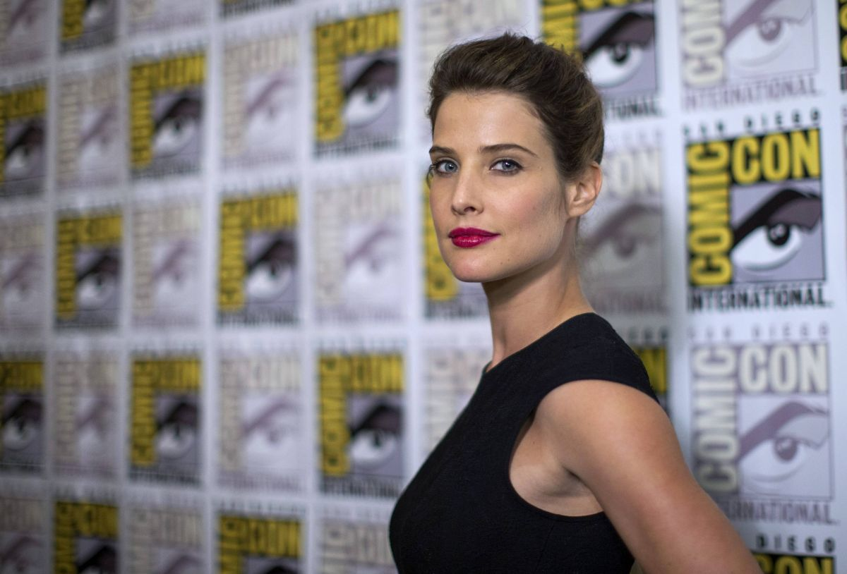 COBIE SMULDERS at Marvel Studios Panel at Comic-con in San Diego