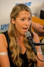 COLBIE CAILLAT at Z100 Studio in New York