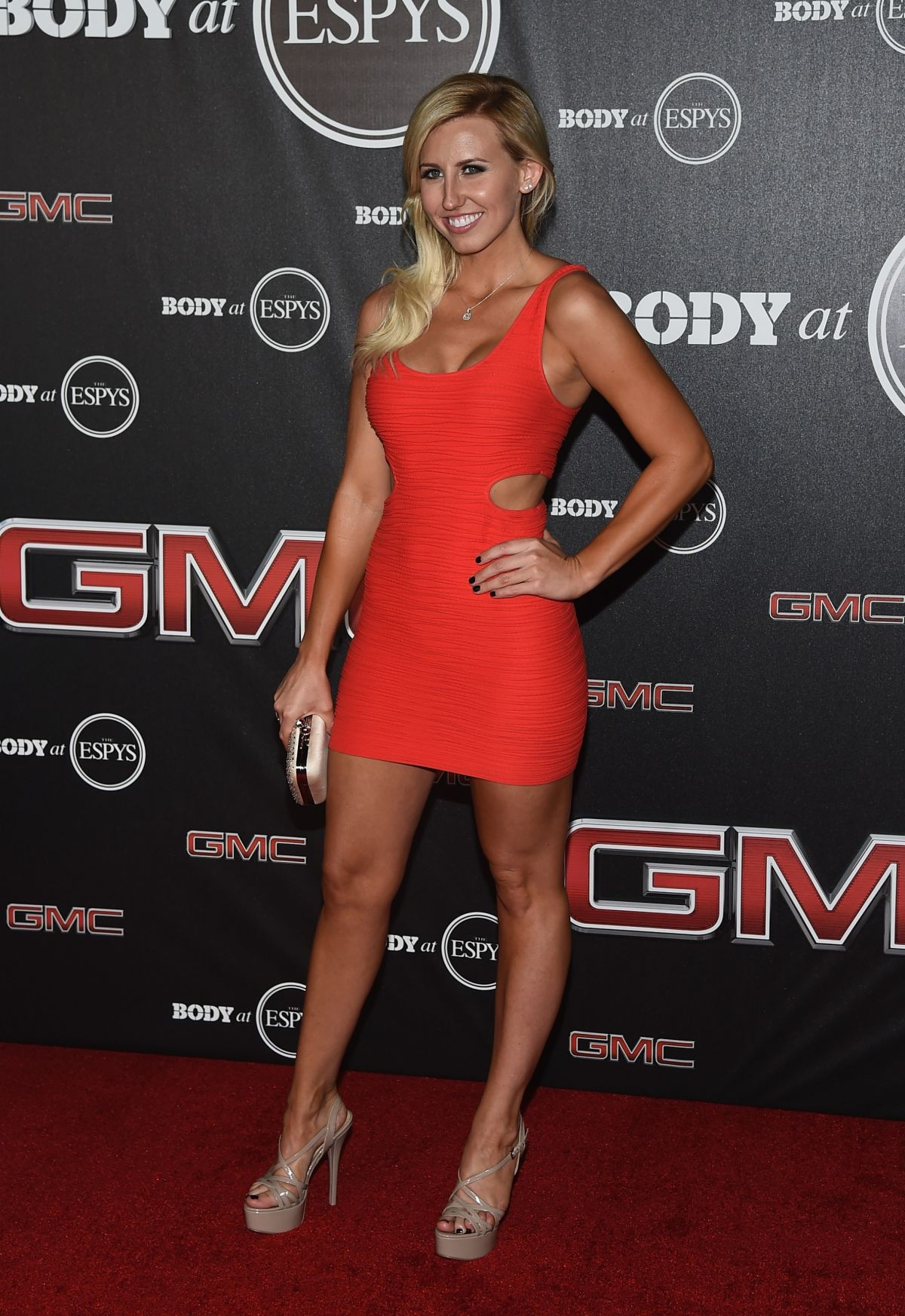 COURTNEY FORCE at ESPN Presents Body at ESPYS