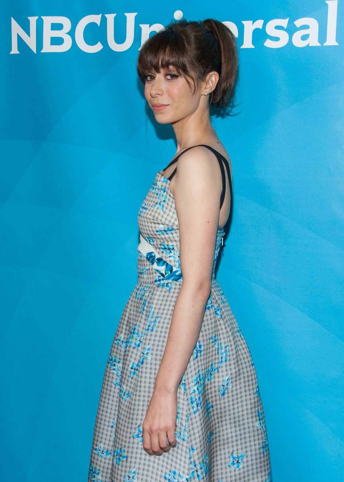 CRISTIN MILIOTI at NBCuniversal 2014 TCA Summer Tour