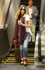 DAISY FUENTES at LAX Airport in Los Angeles