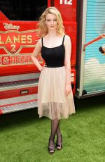 DAKOTA BLUE RICKARDS at Planes: Fire and Rescue Premiere in London