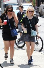 DAKOTA FANING Out and About in New York 2307