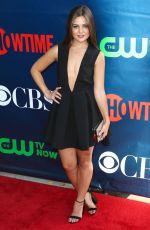 DANIELLE CAMPBELL at CBS 2014 TCA Summer Tour