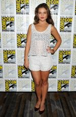 DANIELLE CAMPBELL at The Originals Panel at Comic-con 2014 in San Diego