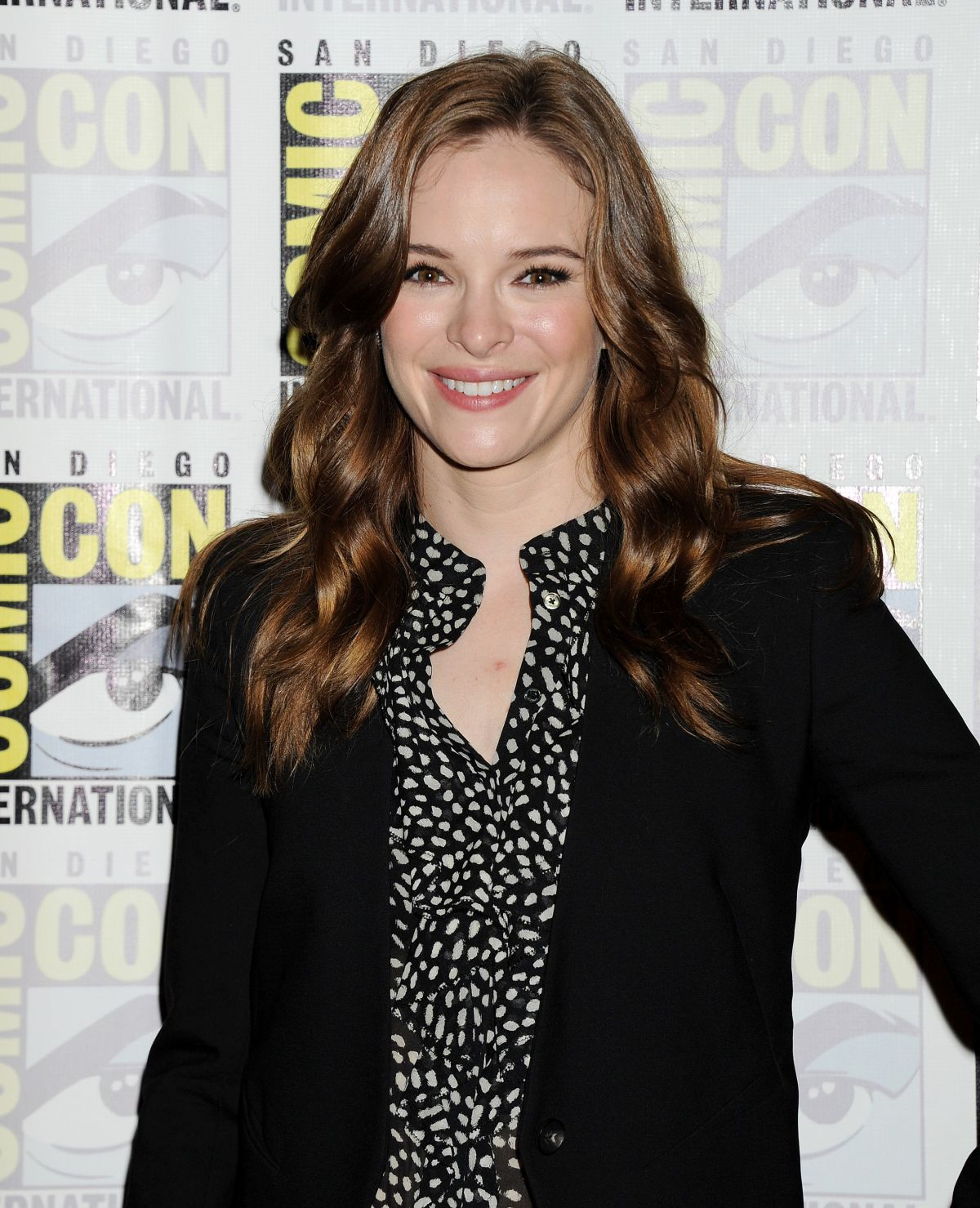DANIELLE PANABAKER at The Flash Panel at 2014 Comic-con in San Diego