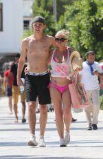 DANNIELA WESTBROOK in Bikini at a Beach in Turkey