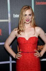 DEBORAH ANN WOLL at Entertainment Weekly's Comic-con Celebration