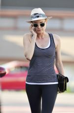 DIANE KRUGER in Tights Leaves a Gym in Hollywood