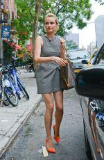 DIANE KRUGER Leaves Her Hotel in New York