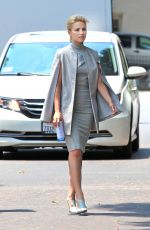 DIANNA AGRON on the Set of Headlock in Beverly Hills