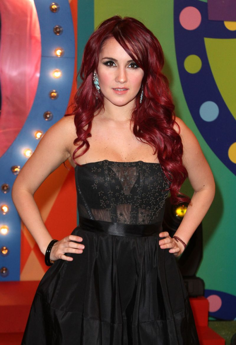 DULCE MARIA at Premios Juventud 2014 in Coral Gables