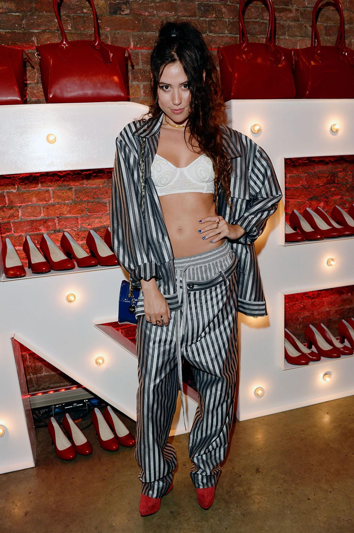 ELIZA DOOLITTLE at Virgin Atlantic's New Uniform Collection Launch in London