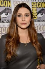 ELIZABETH OLSEN at Avengers: Age of Ultron Panel at Comic-con