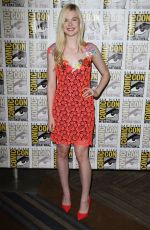 ELLE FANNING at Focus Features Panel at Comic-con 2014 in San Diego