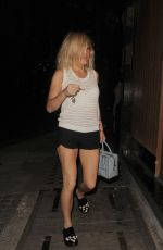 ELLIE GOULDING Arrives at Her Home in London