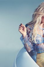 ELLIE GOULDING in Glamour Magazine, August 2014 Issue