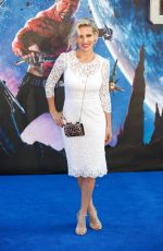 ELSA PATAKY at Guardians of the Galaxy Premiere in London