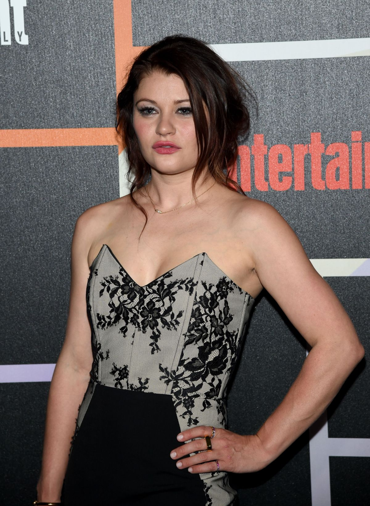 EMILIE DE RAVIN at Entertainment Weekly's Comic-con Celebration