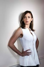 EMILY BLUNT for USA Today by Neale Haynes