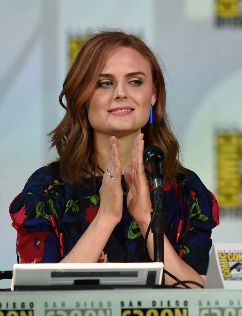 EMILY DESCHANEL at Bones Presentation at Comic-con 2014 in San Diego