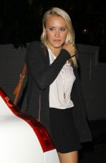 EMILY OSMENT Arrives at Chateau Marmont in Los Angeles