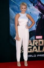EMILY OSMENT at Guardians of the Galaxy Premiere in Hollywood