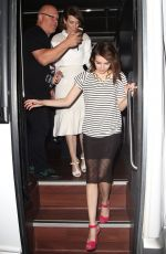 EMMA ROBERTS Arrives at a Comic-con After Party in San Diego