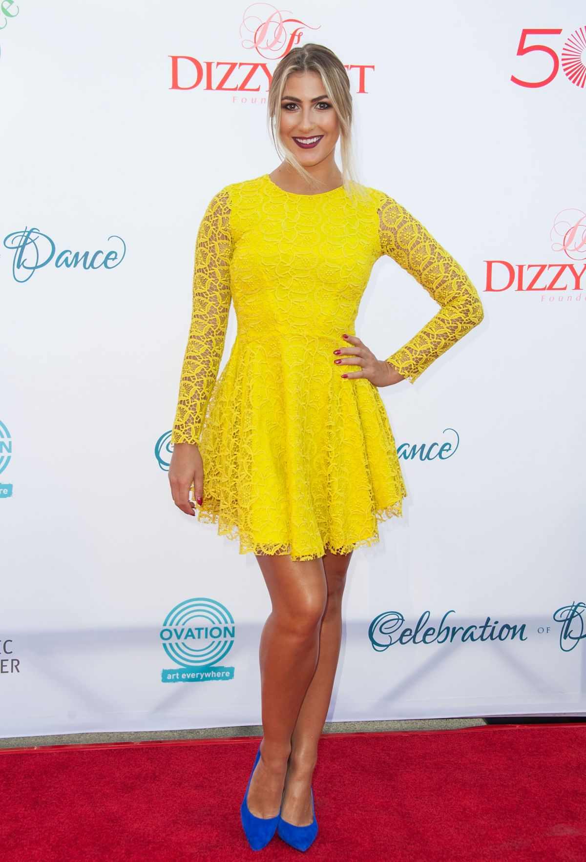 EMMA SLATER at Celebration of Dance Gala